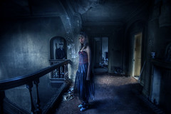 12 am :: (andre govia.) Tags: abandoned night decay hannah may andre spooky explore manor derelict potters govia