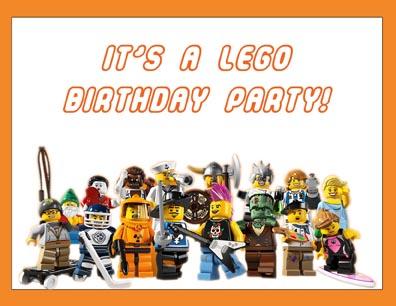 Lego Birthday - How to Make Lego Minifigure Invitations - Manda's ...