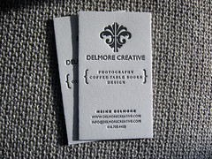 Delmore Creative Business Card