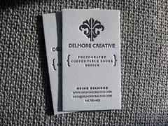 Delmore Creative Business Card