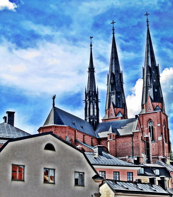 Down town Uppsala HDR
