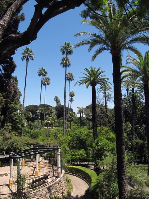 Sevilla Alcazar Garden