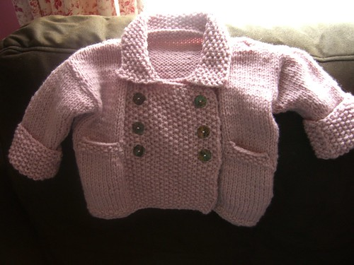 Baby Jacket by Aunt Angie Sews