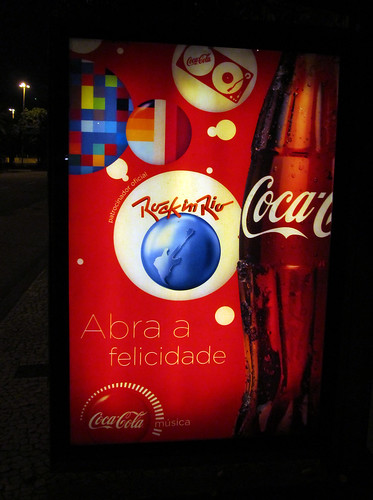 Rock in Rio Coca-Cola Fast Campaing Rio de Janeiro July 2011 - 4 by roitberg