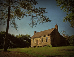 William Rich House (History Rambler) Tags: old morning summer house abandoned home pinetree architecture rural rust south country northcarolina southern plantation vacant simple antebellum federal chimneys decayed tinroof doubledoors nashcounty oncewashome