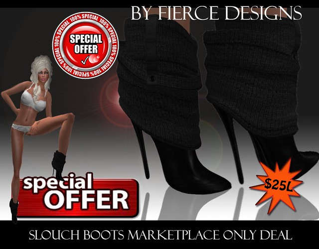 slouch boots 25l marketplace deal