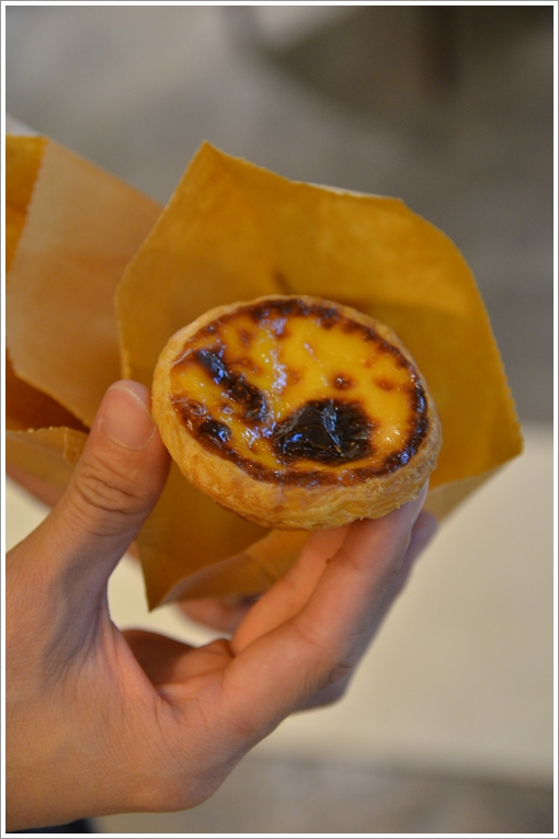 Fantastic Portuguese Egg Tart @ Lord Stow