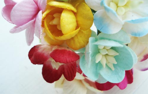 Paper Flowers by The Gilded Bee by such pretty things