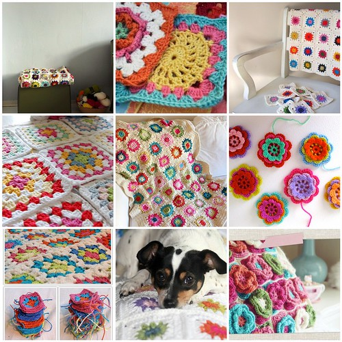 Granny Square Inspiration :)