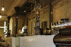 Coutume Café (LostNCheeseland) Tags: paris france coffee café cappuccino pariscafe coutumecafe
