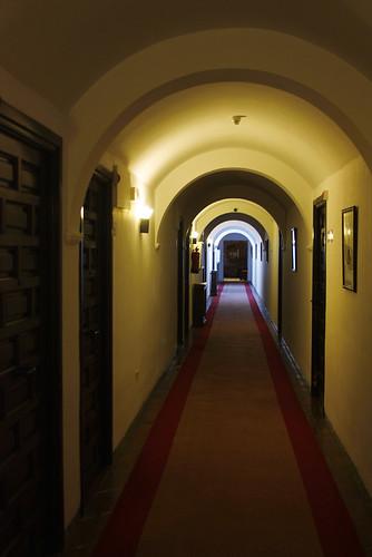 Sigüenza Parador, corridor