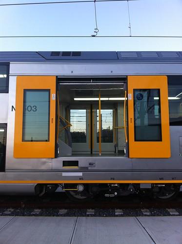 CityRail's New Waratah train or A set