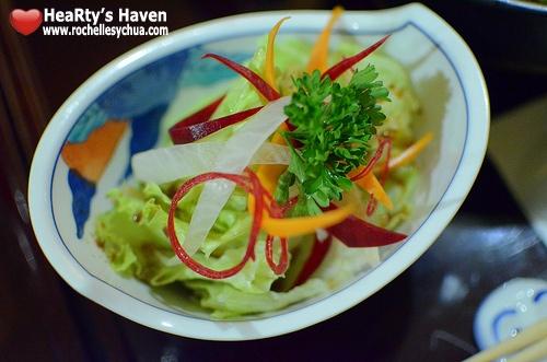 mangetsu mini salad