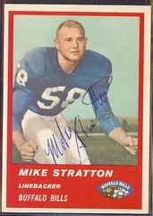 1963 Fleer - 32 - Mike Stratton