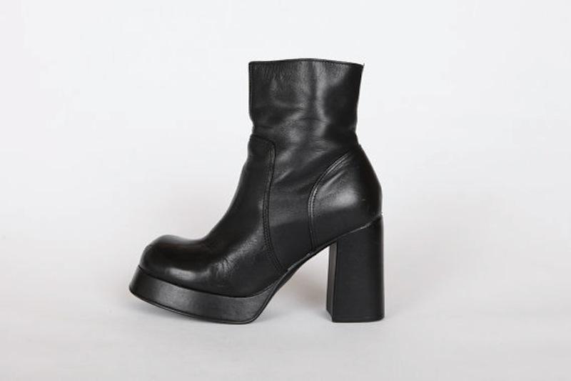 90s platform shoes