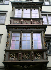Barock Erker in der Kugelgasse (RUNA - spotlight) Tags: museum schweiz europa kunst ostschweiz architektur altstadt stgallen sandstein kloster tourism