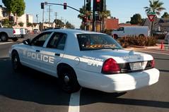 San Pablo Police Subdued Graphics Back Flash (rocketdogphoto) Tags: california usa policecar sanpablo fordcrownvictoria contracostacounty sppd sanpablopolicedepartment