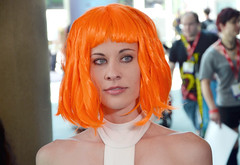 Leeloo Close Up (Ms.Mars) Tags: mars costume san comic cosplay diego ms thursday comicon con leeloo element fifth the