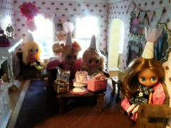 Blythe Party in the Cupcake Room