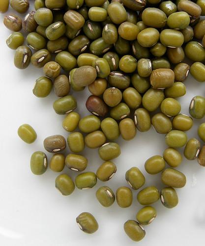 Gedroogde groene boontjes