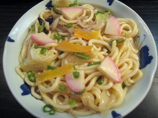 Cold Champon Noodle Dish