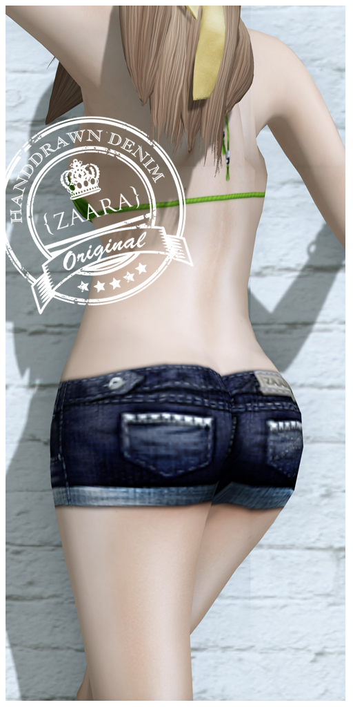 {Zaara} : Denim shorts
