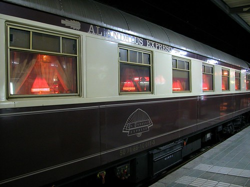 Al Andalus, luxury train in Spain
