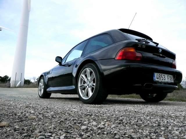 1999 Z3 Coupe | Jet Black | Black | Style 103 Wheels