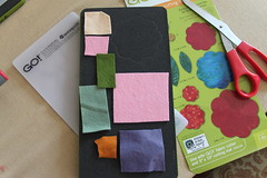 layout felt pieces