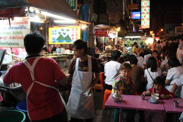Street Dessert Stall in Yaowarat, Bangkok, Thailand