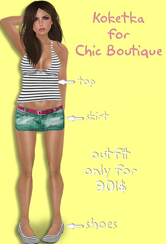 Outfit by Koketka for Chic Boutique