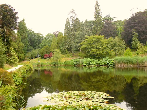Pond in grounds, Chatsworth House