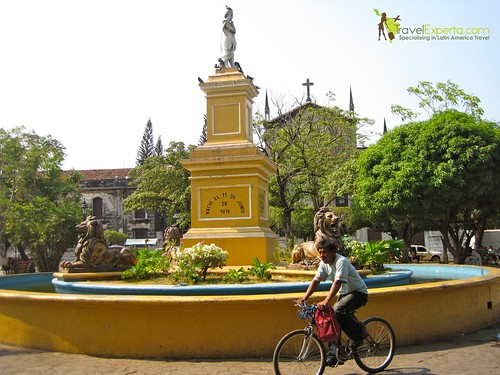 Leon Nicaragua Central Park Daily Life