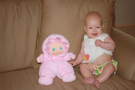 Annie Five Months 433