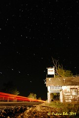 Abandon Gas Station 3:00am. Kent, Oregon (Andrew Behr) Tags: bulb night centraloregon stars kent highway desert gasstation abandon pacificnorthwest ghosttown 97 startrails grassvalley shaniko highway97 kentoregon abandonoregon