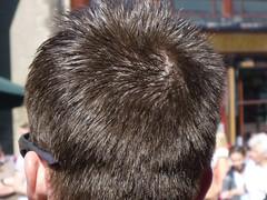 Gelled (GusRoman) Tags: haircut man hair buzz barbershop crew crop barber buzzcut burr clippers nape wahl