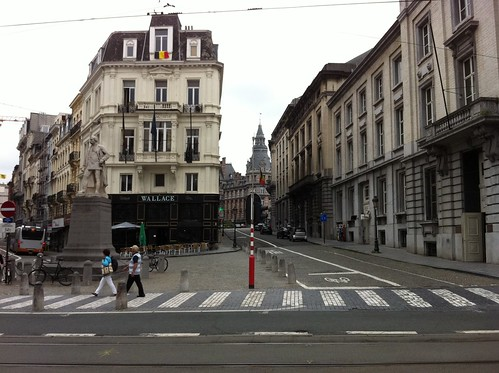 Bruxelles: At Rue Royale