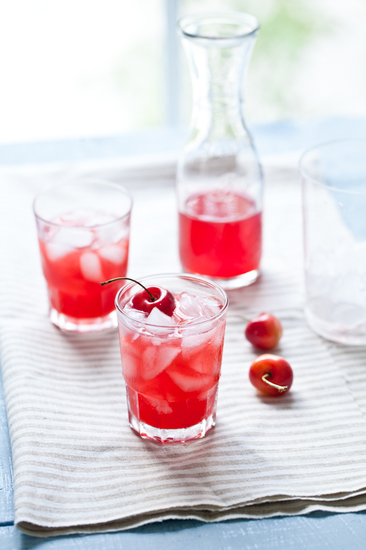 Apricot and Cherry Cocktail Copyright © Helene Dujardin 2011