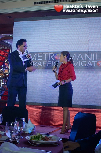 metro manila traffic navigator launch hosts