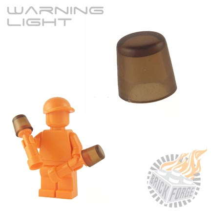 Warning Light - Trans Brown