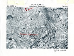 Devonport Gasworks Map (Photo) 1 (Plymouth History) Tags: cornwall map aircraft nazi plymouth aerial devon photograph german target bomb blitz bombing reich devonport secondworldwar stonehouse luftwaffe plymstock saltash torpoint