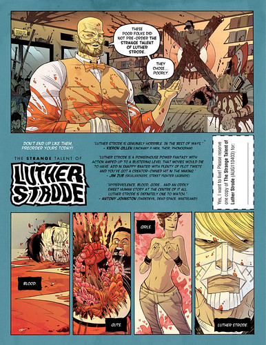 Pre-order LUTHER STRODE #1 by sobreiro
