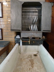 Dishwasher (moley75) Tags: summer kitchen sink nt august northumberland dishwasher nationaltrust armstrong armstrade cragsidehouse onemansvision armsmanufacture
