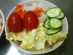 朝食サラダ(2011/8/5)