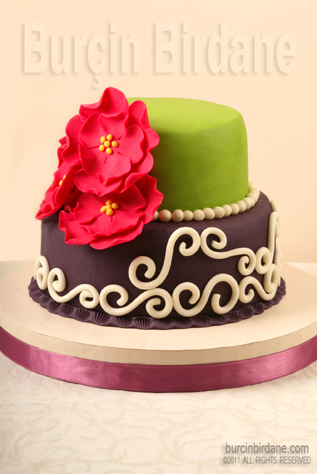 Cicekli pasta