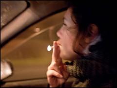 Drive and Smoke (Sapient Iguana) Tags: light car drive smoke smoking flame vehicle driver smoker lucianlanteri