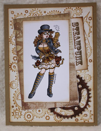 Steampunk Card