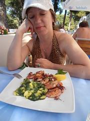 Lignje na aru. (Roasted squids) (L.Gennady2) Tags: croatia istria hrvatska vrsar koversada orsera