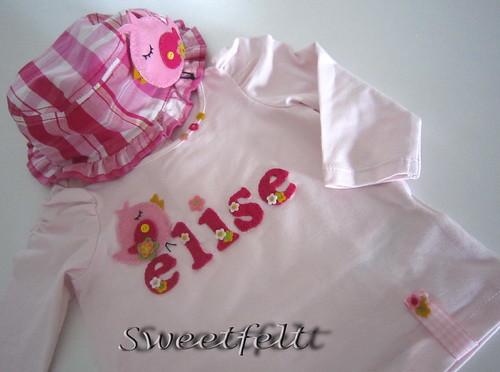 ♥♥♥ Conjuntinho para a Elise... by sweetfelt \ ideias em feltro