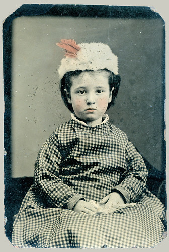 Tintype child